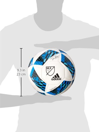 Adidas Performance 2016 MLS Glider Soccer Ball.