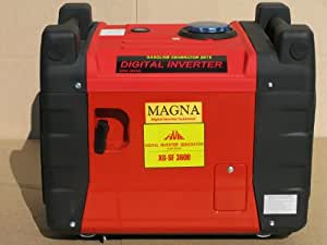 Magna 3300 Watt Inverter Generator with Electric Start and Remote Start - Quiet and heavy duty