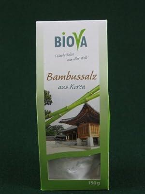 Biova Bambus-Salz aus Korea 150 g von Biova - Gewürze Shop
