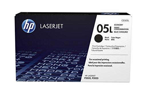 HP 05L Economy Original HP Toner (geeignet für HP LaserJet P2035, HP LaserJet P2055) schwarz