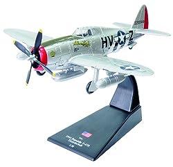 Republic P-47D Thunderbolt Diecast 1-72 Model (Amercom Sl-44)