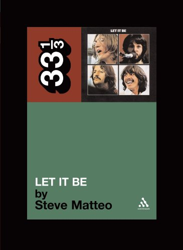The Beatles' Let It Be (33 1/3 Series)