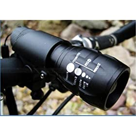 Nowadvisorq5 Cree 240 Lumen Led Bike Bicycle Headlight Torch