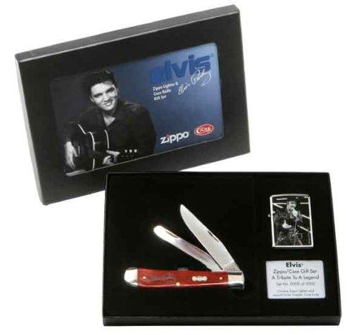 Zippo Elvis Presley Lighter & Knife Limited Editon Numbered Set