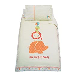 Mothercare My Jungle Family Duvet Cover - Cotbed