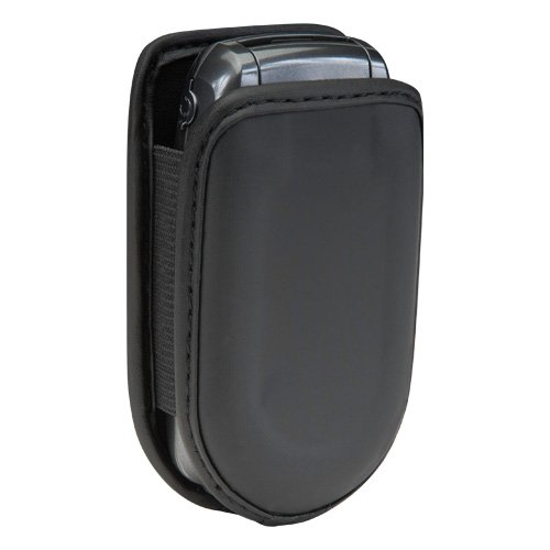 Universal Cell Phone Flip Case fits most Prepaid Phones – Black