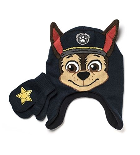 Infant/Toddlers' Cold Weather Hat Sets (Chase) (Paw Patrol Chase Toddler Costume)