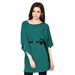 Westhreads Women's Polyester Tunic (Teal)