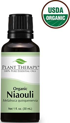 USDA Certified Organic Niaouli Essential Oil. 30 ml (1 oz). 100% Pure, Undiluted, Therapeutic Grade.