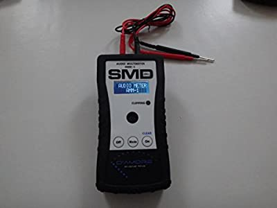 SMD Audio Multi Meter / Hand Held Amplifier Dyno - Real time wattage tester