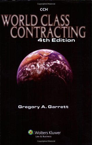World Class Contracting 4e