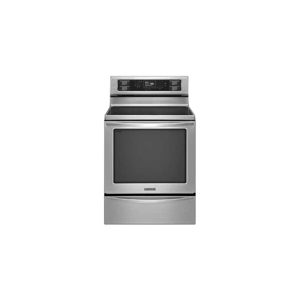 Kitchenaid KERS306BSS Freestanding Electric Range & Convection Oven