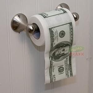 USD $100 Toilet Paper Roll. Precio: $7.10
