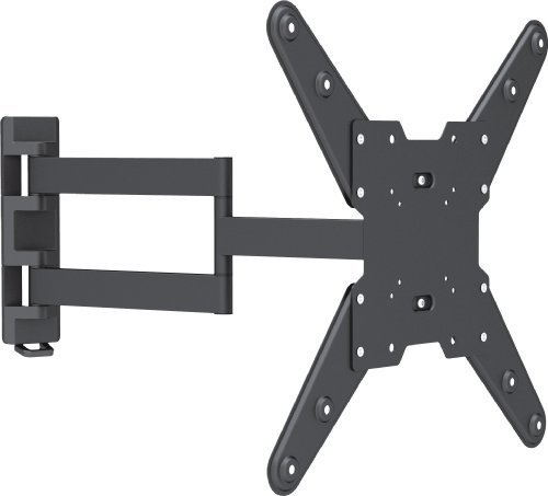 "VonHaus by Designer Habitat Ultra Slim Cantilever Swivel & Tilt Wall Mount TV Bracket for 26-55"" for LCD, LED, 3D, Plasma TVs. Load Capacity 88lbs"