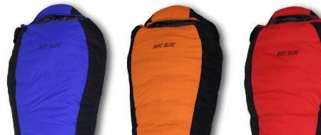 MONT BLANC(モンブラン)高級ダウン寝袋 全3色 マミー型 シュラフ スリーピングバック [最低使用温度-25度]