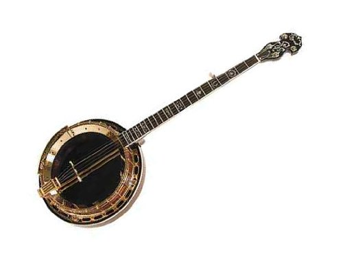 Ozark Professional Gold-plated Bluegrass Banjo