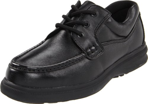 Hush Puppies Men's Gus Oxford,Black Leather,10 M US