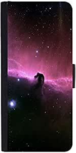 Snoogg Universe Abstract Designer Protective Phone Flip Case Cover For Lenovo A6000