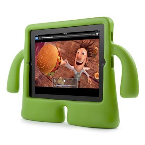 Speck Products Iguy Freestanding Case For Ipad 4, Ipad 3, Ipad 2, And Ipad 1, Lime Green, Spk-A1247 front-945244