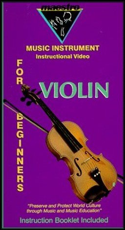 Music Instrument Instructional Video for Violin Beginners [Instruction Booklet Included]