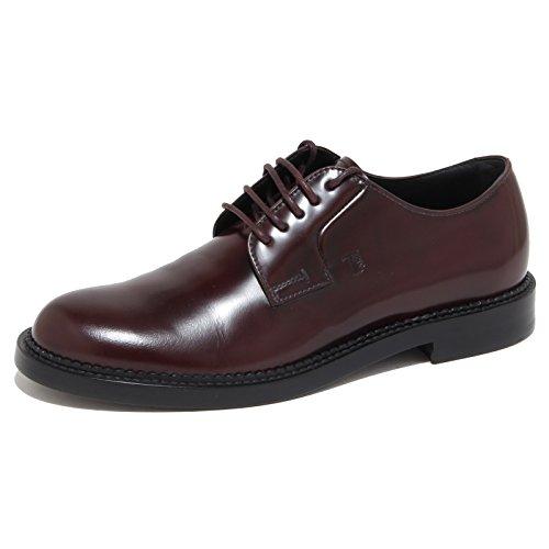 7023N scarpa uomo TOD'S DERBY bordeaux shoes man [6]