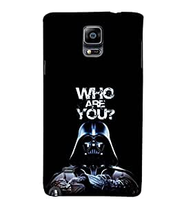 EPICCASE Who are You Mobile Back Case Cover For Samsung Galaxy Note Edge (Designer Case)