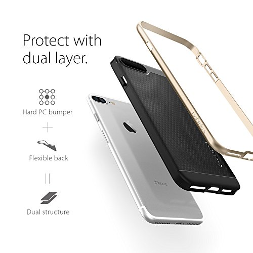 iPhone-7-Plus-Case-Spigen-Neo-Hybrid-PREMIUM-BUMPER-Champagne-Gold-Bumper-Style-Premium-Case-Slim-Fit-Dual-Layer-Protective-Cover-for-Apple-iPhone-7-Plus-043CS20683