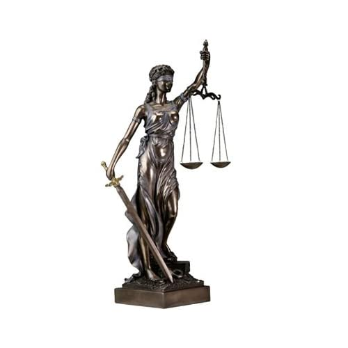sale blind lady justice statue law office lawyer gift