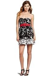 Trixxi Juniors Poplin Tube Dress