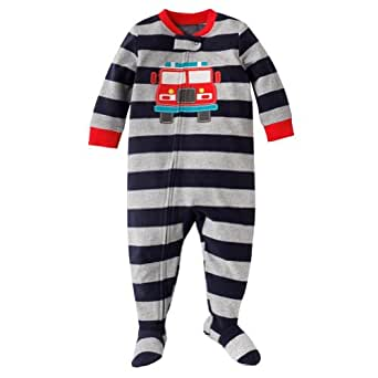 Amazon Com Carter S Boys 1 Pc Fleece Footed Blanket