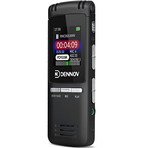 Office Products Voice Recorder Pen Preview Dennov Vr Bk8 8 Gb