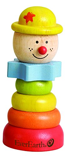 EverEarth Stacking Clown - Red Hat EE33268