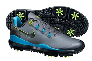 Nike Golf TW '14 Golf Shoe - COOL GREY/VIVID BLUE/MTLC DARK GREY/BLACK 11.5 M
