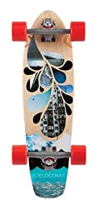 Goldcoast Complete Blues Shovel Longboard (7.5 X 27-Inch)