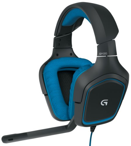 LOGITECH-G430-981-000536-Dolby-71-surround-sound-Gaming-Headset