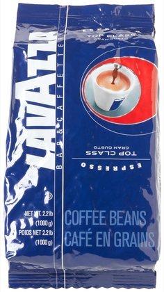 Lavazza Top Class Espresso Whole Bean Coffee, 2.2 lbs Bag (Quantity of 2)