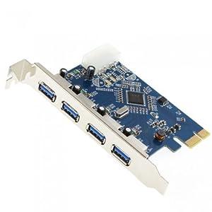 Micro SATA Cables - 4 PORT USB 3.0 PCI-e PCB Card
