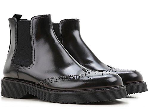 Stivaletti alla caviglia Prada donna in Pelle nero - Codice modello: 3T5741 055 F0002 - Taglia: 41 IT