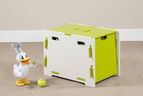 Legare Frog Boîte de rangement 60 x 44,2 x 42 cm, vert et blanc