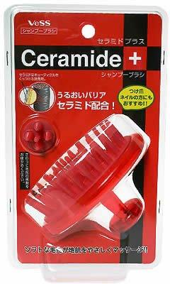 ベス セラミド シャンプーブラシ CRMー650