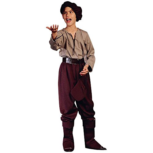 Child's Renaissance Peasant Boy Halloween Costume (Size: Small 4-6)