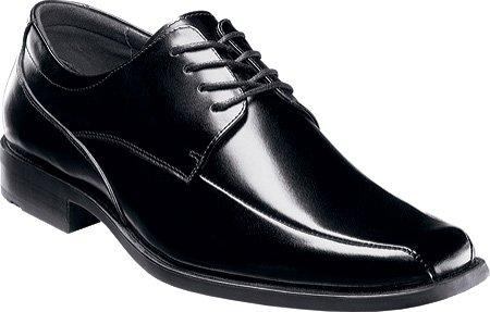 Stacy Adams Men's Canton Black Leather 14 M US