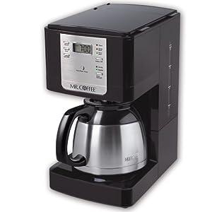 Mr. Coffee JWTX85 8-Cup Thermal Coffeemaker, Stainless Steel