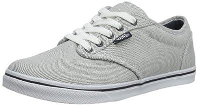 Vans Womens W ATWOOD LOW  (NAUTICAL) GREY Low Gray Grau ((Nautical) grey) Size: 2.5