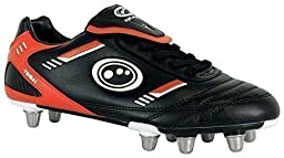 Tribal Rugby Boots Black/red 3
