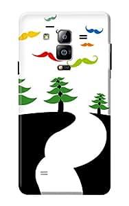 Samsung Galaxy On7 Back Case KanvasCases Premium Designer 3D Printed Lightweight Hard Cover