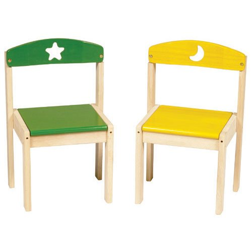 GuideCraft Moon and Stars Extra Chairs - Set of 2