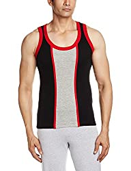 Opex Men's Cotton Vest (B019_Qbyr0_M-32_Multi-Coloured_32)