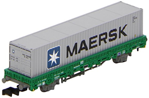 arnold-hn-6253-railway-modelling-appartamento-wagon-tipo-rl-mms-con-maersk-container-renfe