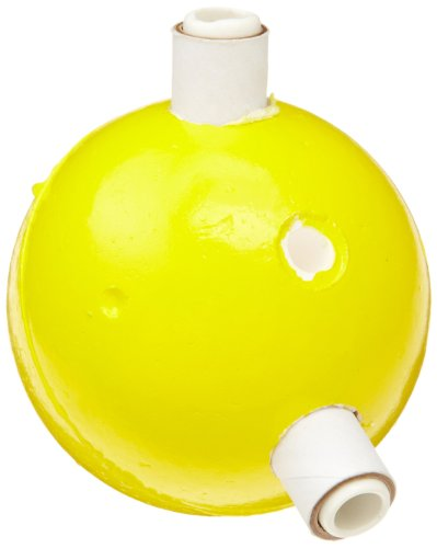 "Molecular Models Yellow Polystyrene Divalent Sulfur Atom Center, 2"" Diameter"